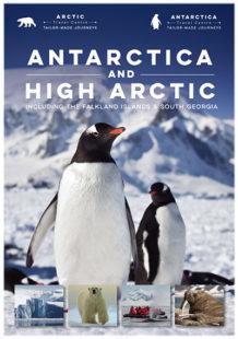 Antarctica Travel Centre brochure cover