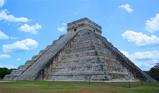 Chichen Itza Mayan Ruins Mexico