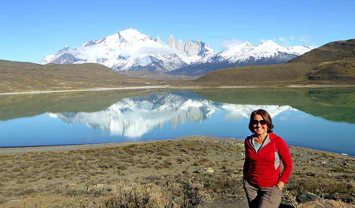 Cinzia in Patagonia