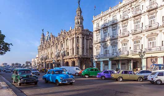 Great Theatre Havana Cuba