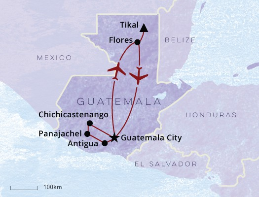 Guatemala Sample itinerary