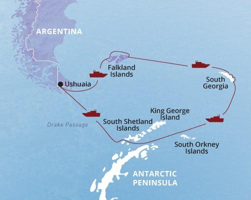 Antarctica Falkland Islands South Georgia