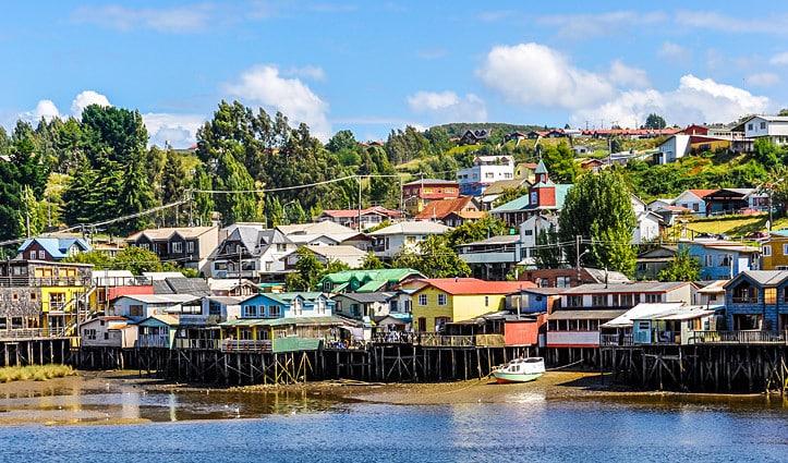 Castro Chiloe Iisland Chile