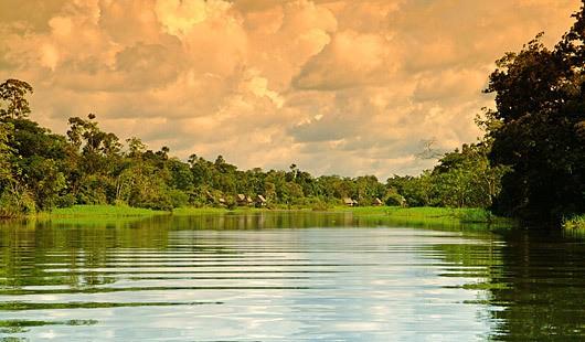 Dawn at the Amazon