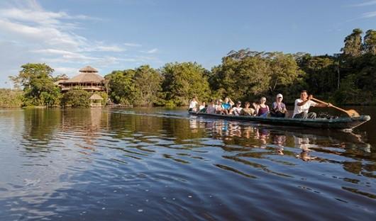 exploring-an-ox-bow-lake-amazon-ecuador