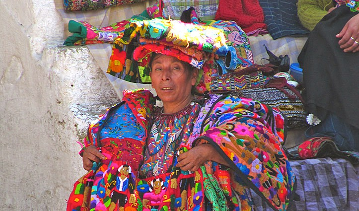 Guatemala street vendor