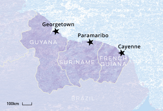 guyana_suriname_french-guiana