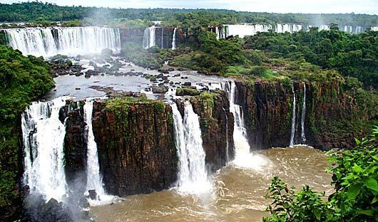 Iguassu Falls Argentina and Brazil