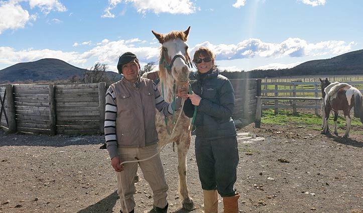 jenn and gaucho patagonia