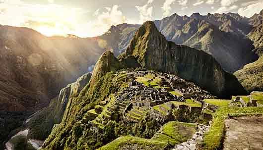 Machu Picchu feature