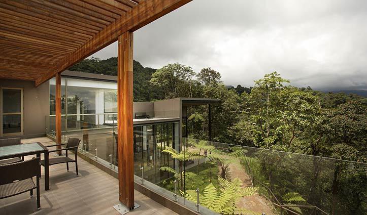 Mashpi Lodge terrace