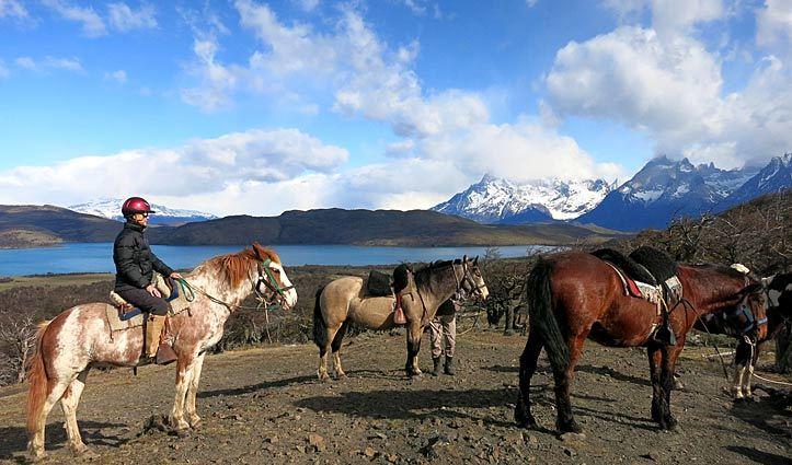 patagonia jen on horseback