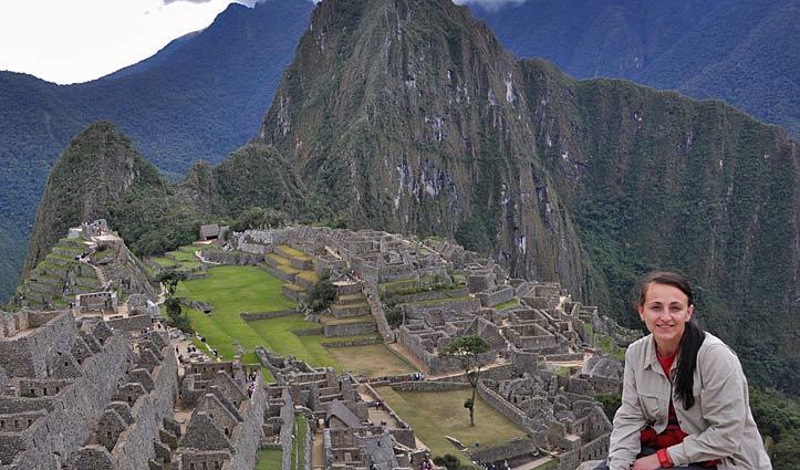 Rachel Machu Picchu