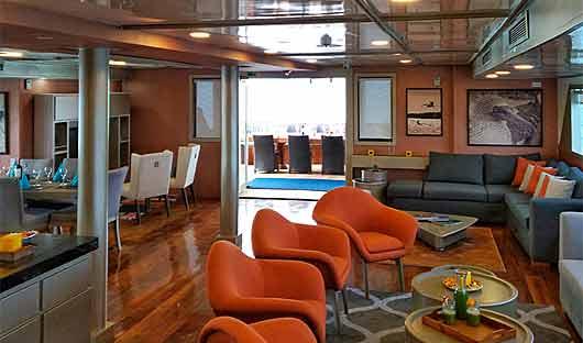 Sea Star Journey lounge
