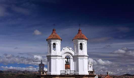 Sucre church Bolivia