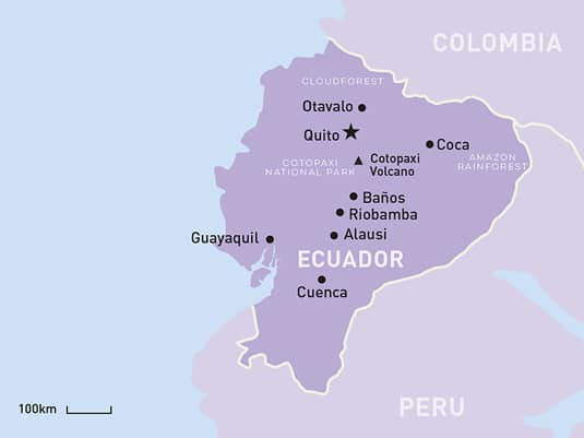 Ecuador Tour TailorMade Holidays South America Travel Centre
