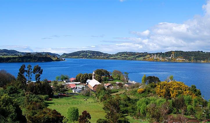 Chiloe Island, Chile, Landscape