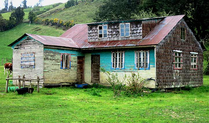 Farm House Chiloe Island, Chile