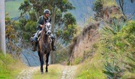 horse riding at Zuleta