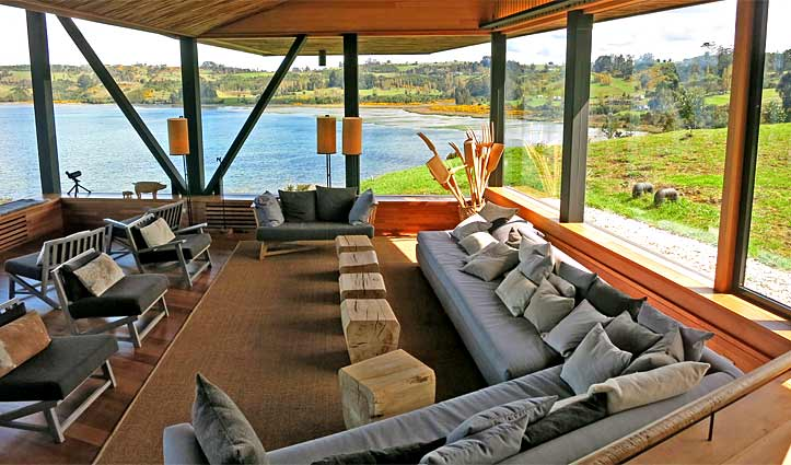 Tierra Chiloe Lounge Room