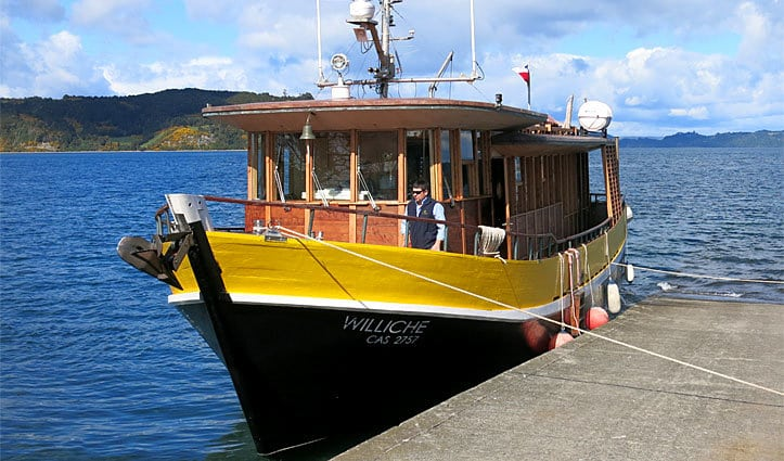 Williche Tierra Chiloe Boat