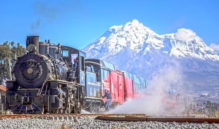 Tren Crucero Steam Train Ecuador