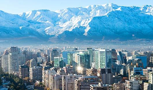 Santiago and Andes