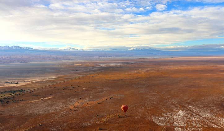Balloon Ride over the Atacama Desert