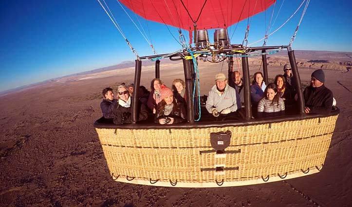 Hot Air Balloon Ride Atacama Desert, Chile