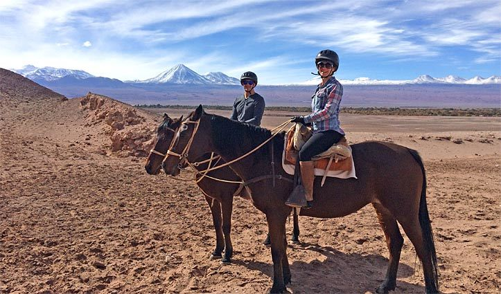 Horseriding Atacama Desert