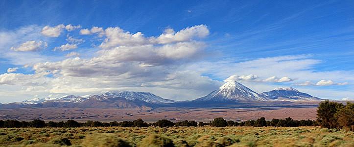 Volcanoes Atacama Desert