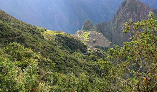 Mahcu Picchu from Sungate