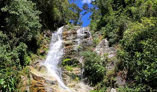 Waterfall on the Inca Trail