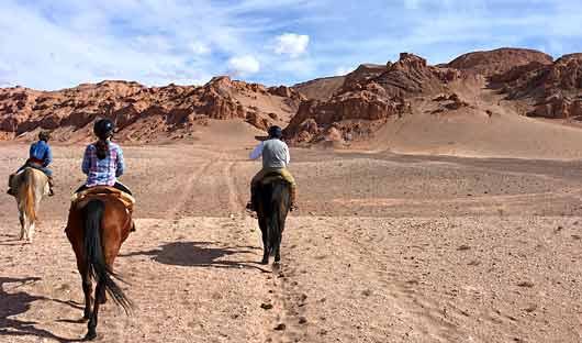 Horse riding Atacama