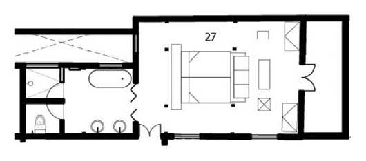 Atelier layout, Hotel B, Lima Peru