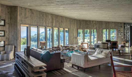 Awasi Patagonia Lodge lounge
