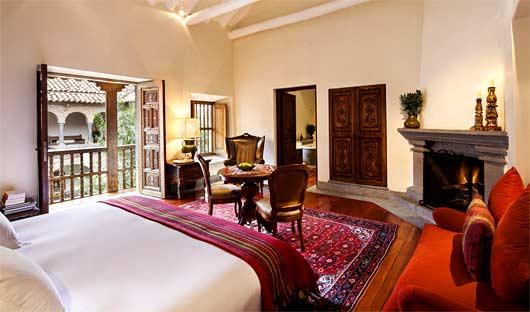 Balcon Suite Inkaterra La Casona Cuzco, Peru