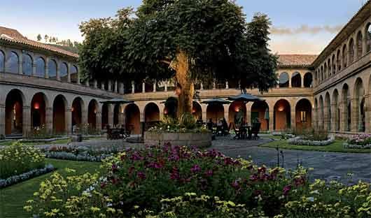 Belmond Monesterio courtyard