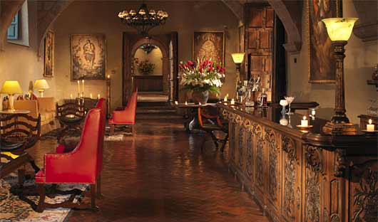 Belmond Hotel Monesterio lobby