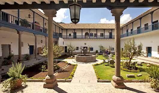 Belmond Palacio Nazarenas Courtyard, Cusco, Peru