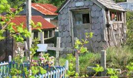 Cemetery Chiloe Chile