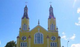Church Chiloe, Chile