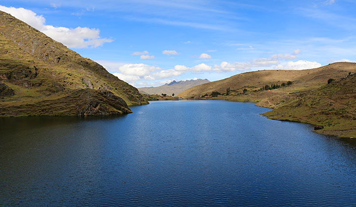 Highlands Lake Sacred Valley, Peru