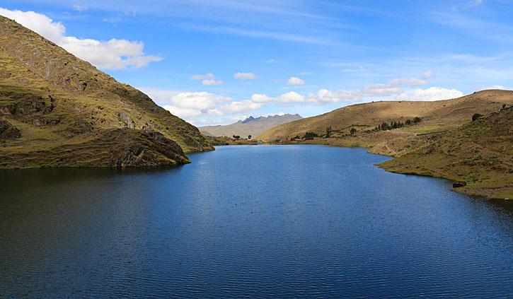 Highlands Lake Sacred Valley, Peru