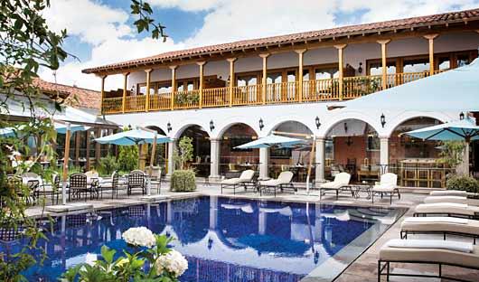Pool Belmond Palacio Nazarenas, Cusco