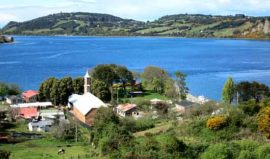 Rolling hills of Chiloe