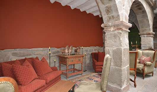 Sitting Area Belmond Palacio Nazarenas, Cusco