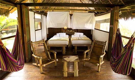Inkaterra Reserva Amazonica Superior Rio Room