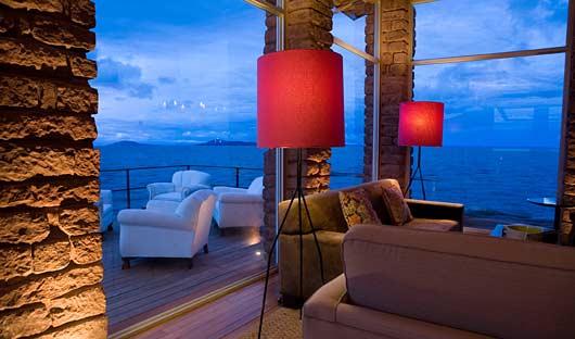 Titilaka Lounge, Titicaca, Peru