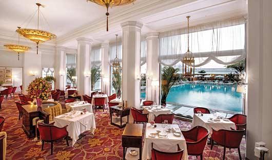 Cipriani Restaurant view, Belmond Copacabana Palace, Rio De Janiero